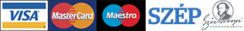 Visa - Mastercard - Maestro - Szép kártya (OTP, MKB, KH)